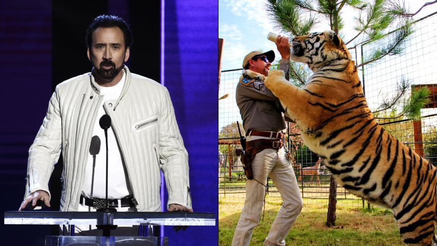 Nicolas Cage y 'Tiger King'