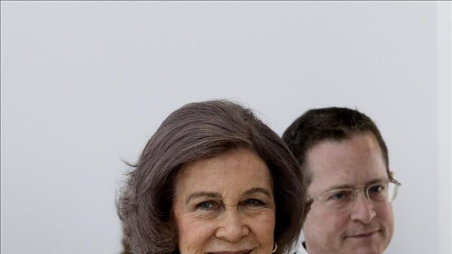La Reina Sofía visita la Fundación Champalimaud de Lisboa