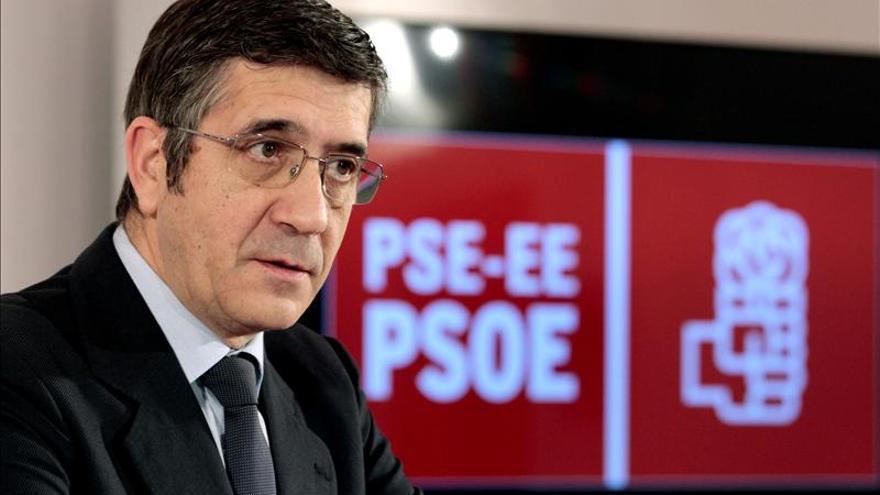 Patxi López cree que el PP impone todos los dogmas de fe de los ultraconservadores