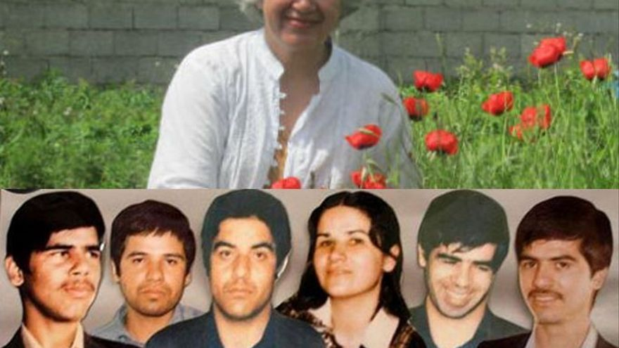 Mansoureh Behkish perdió a seis miembros de su familia durante la represión de la década de los 80 en Irán / Private