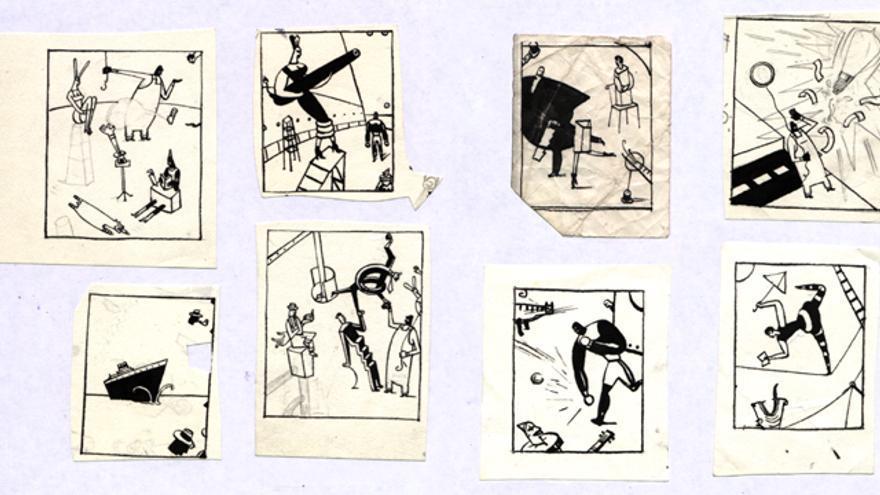 Ilustración del libro 'No tinc paraules' de Arnal Ballester, editado por la editorial Media Vaca dentro de su colección 'Libros para niños'.