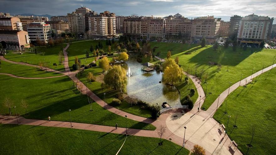Parque Yamaguchi de Pamplona