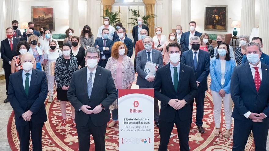 Presentación del Plan Estratégico de Comercio de Bilbao