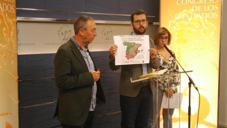 """Compromís rechaza los Presupuestos por ser """"un insulto constante a los valencianos"""""""
