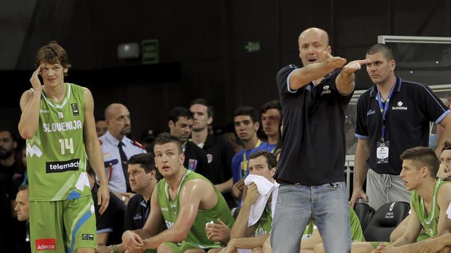 Partido entre EEUU y Eslovenia en el Gran Canaria Arena. Efe.