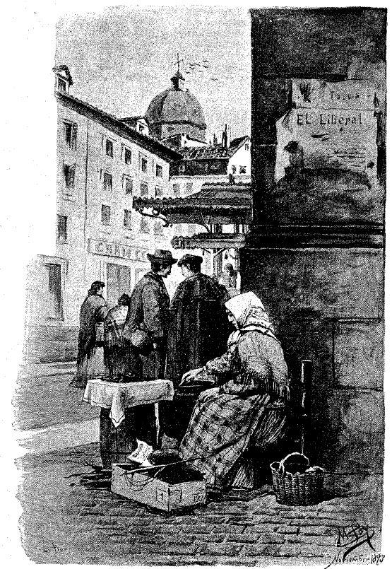 Ilustración original de La Gran Vía (7/01/1894)