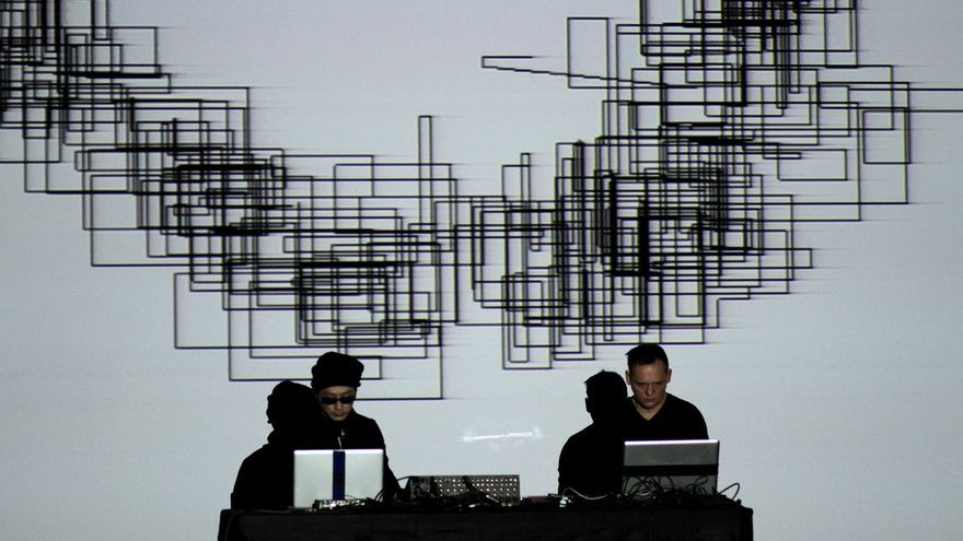 Ryoji Ikeda y Carsten Nicolai