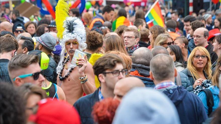 Marcha del Orgullo LGTBI en Bruselas / EFE