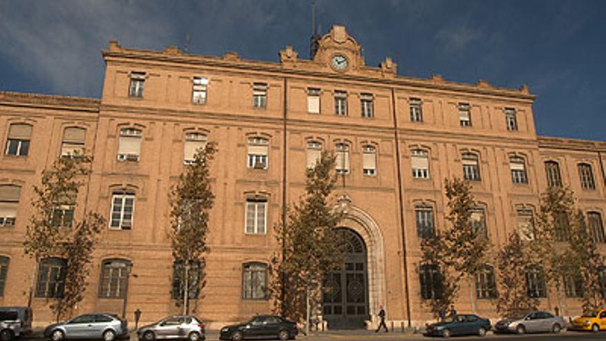 El edificio Tabacalera, propiedad del Ayuntamiento de Valencia
