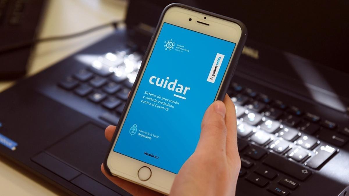 La app CUIDAR permite la autoevaluación de síntomas en pocos pasos y suma la posibilidad de añadir al Certificado Único Habilitante de Circulación.