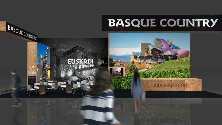 """Euskadi estará presente, desde este lunes, en la feria turística de """"WTM"""" de Londres junto con 16 empresas vascas"""
