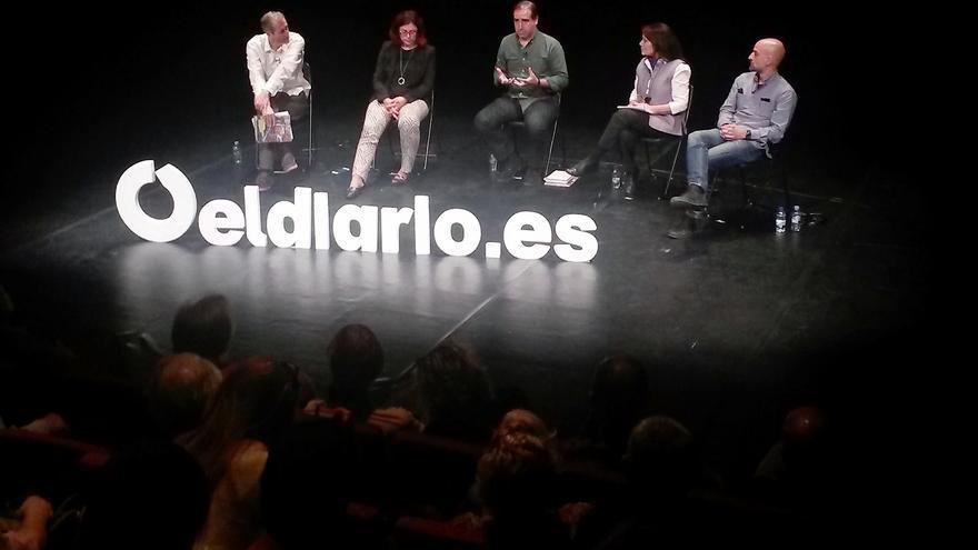 Un momento de la presentación de 'La ciudad civilizada' en Madrid