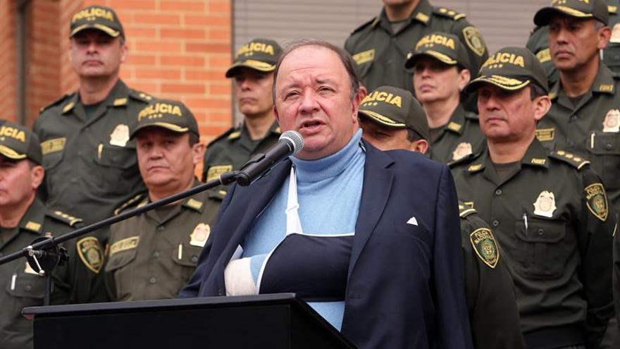 El ELN es sospechoso de un ataque en Bogotá que dejó un policía muerto y seis heridos