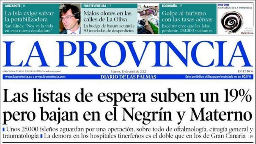 De las portadas del día (10/04/2012) #1