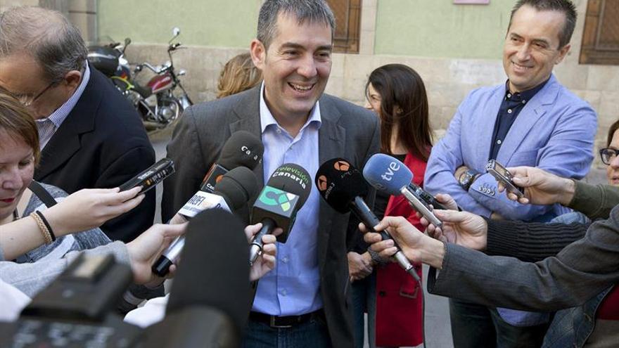 """Fernando Clavijo no baraja un """" acuerdo a tres"""" para el Gobierno de Canarias"""