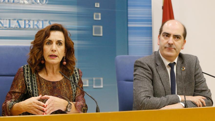 Ana Belén Álvarez y José Manuel Callejo en rueda de prensa. | LARA REVILLA