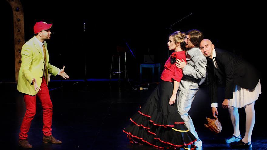 Un instante de la actuación de Mago de Oz (Oh, EurOZpa!)