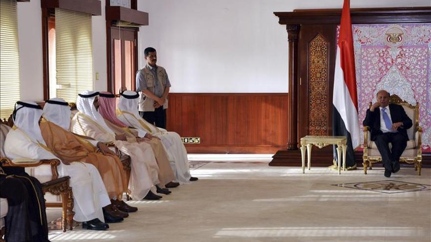 El Consejo de Cooperación del Golfo muestra su apoyo al presidente yemení en Adén