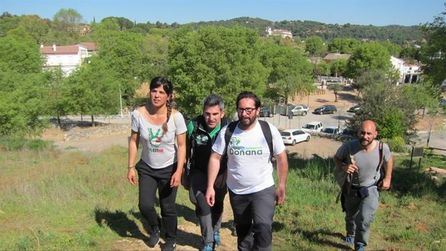 Iniciativa de Podemos para defender su Ley de Senderos.