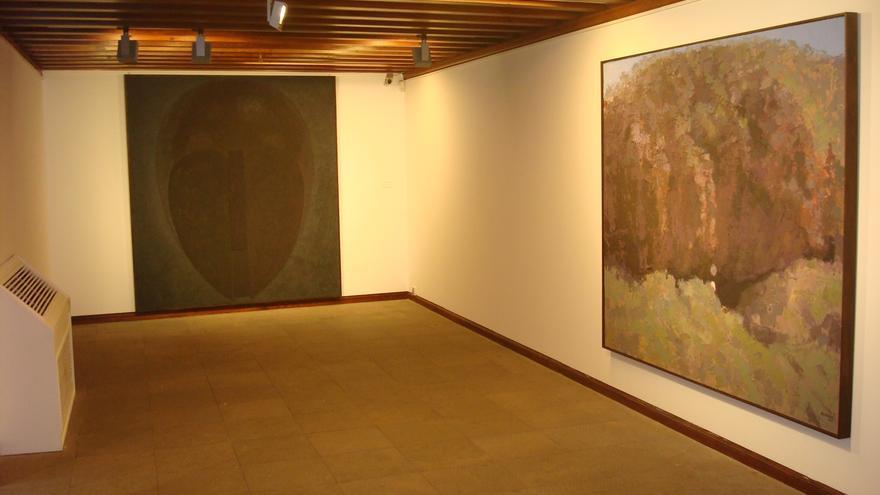 En la imagen, una sala de la exposición.