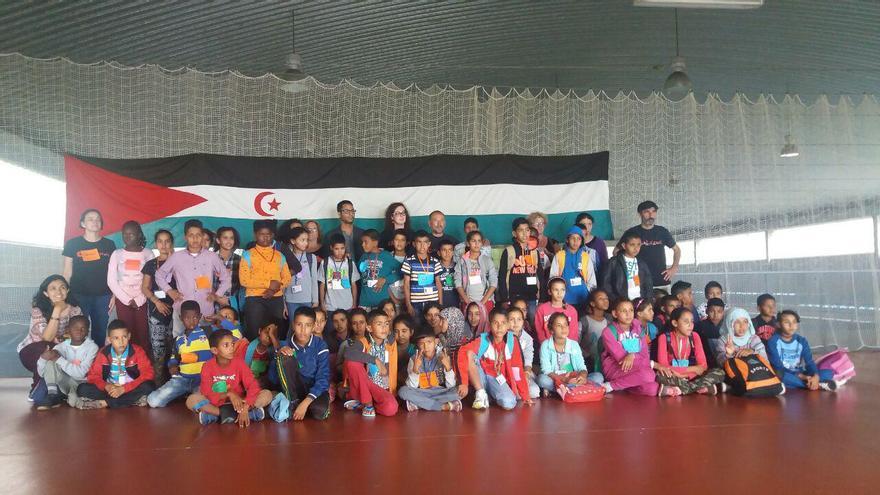 70 niños y niñas saharauis pasarán los próximos dos meses en Cantabria,