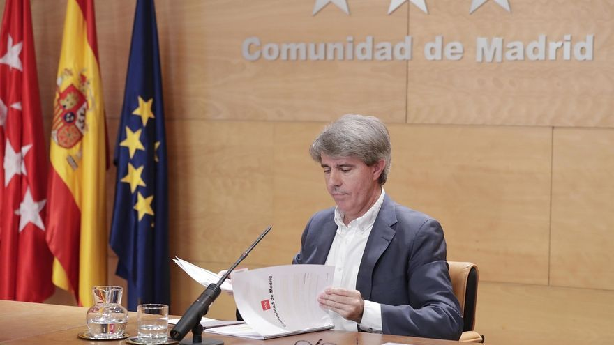 Ángel Garrido (PP), en una imagen de archivo