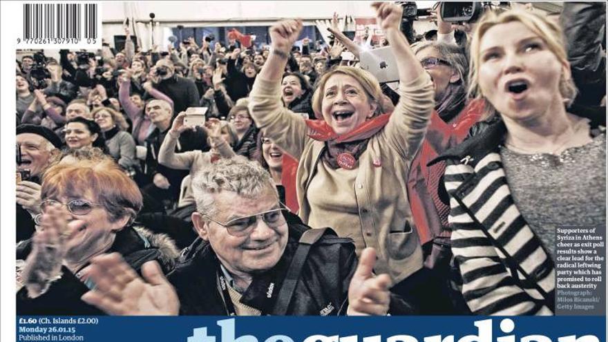 THE GUARDIAN | La histórica victoria de Syriza pone a Grecia en colisión con Europa