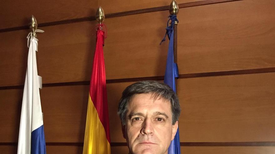Domingo Martín Ortega ha sido elegido este jueves presidente de la Asociación de Organizaciones de Productores de Plátanos de Canarias (Asprocan). Foto cedida a Europa Press
