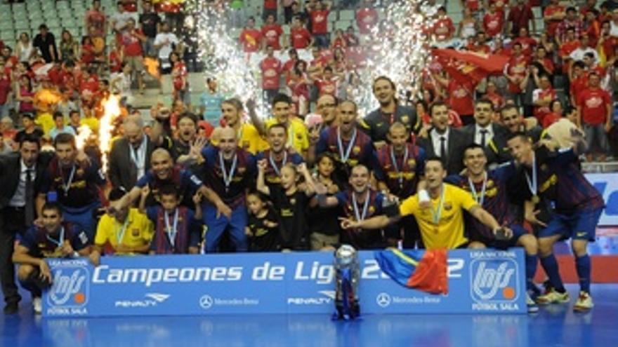 FC Barcelona Alusport, Campeón De Fútbol Sala