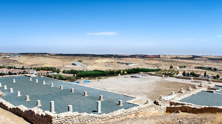 Yacimiento arqueológico de Libisosa, en Lezuza (Albacete)