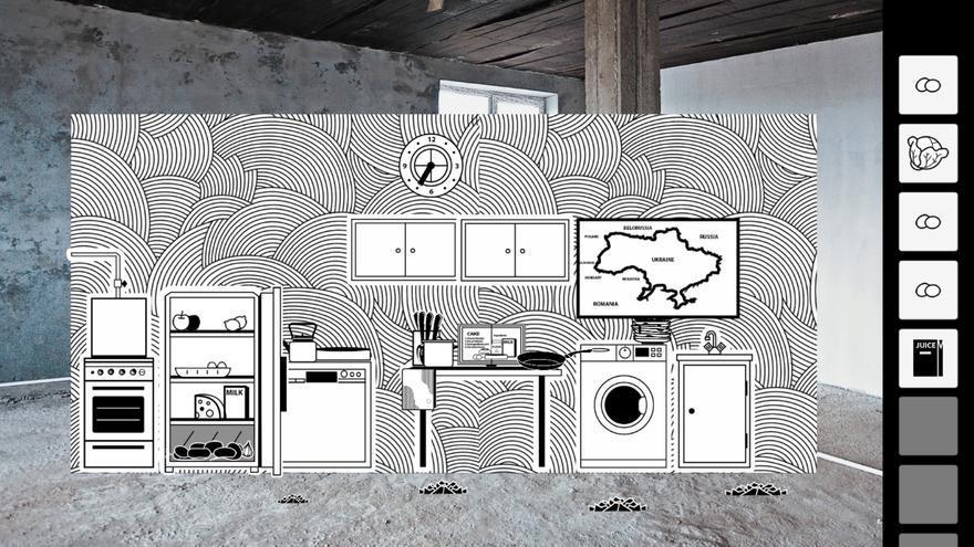 La cocina de una casa ucraniana es uno de los espacios principales de 'VONA'