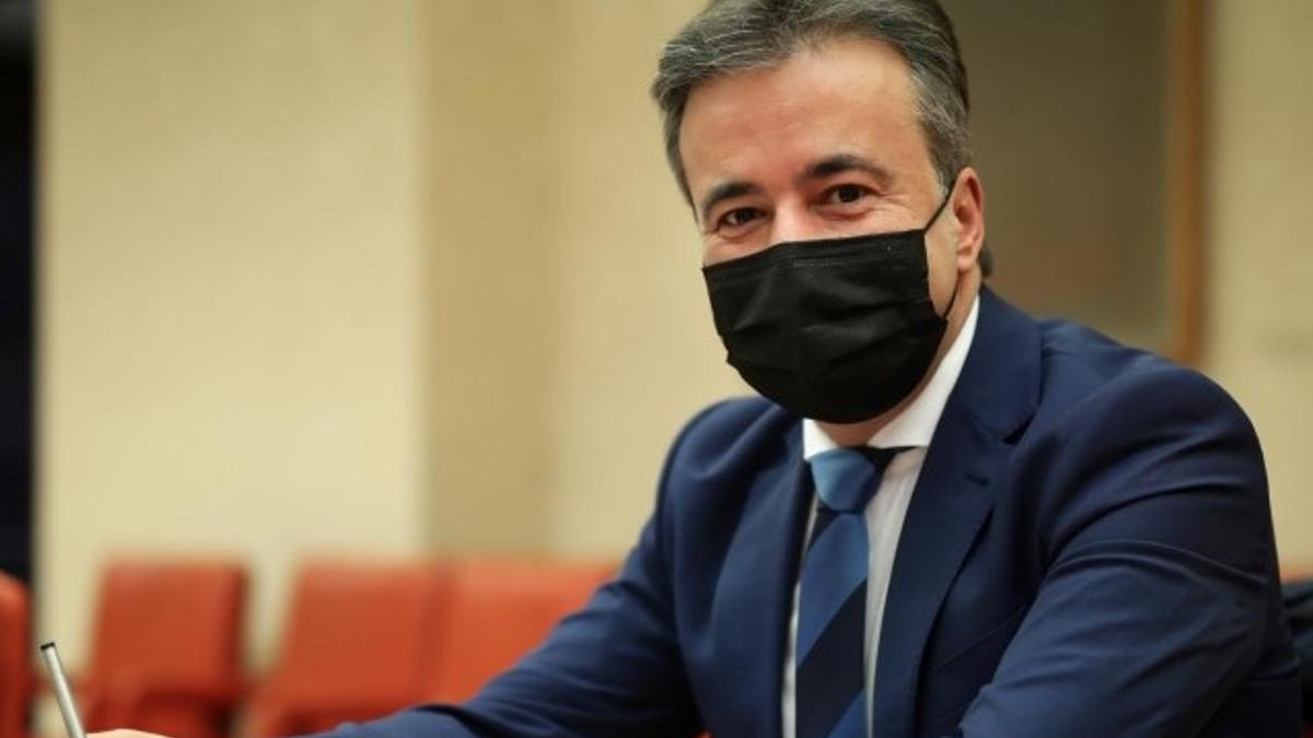 El diputado del PP en el Congreso Diego Movellán
