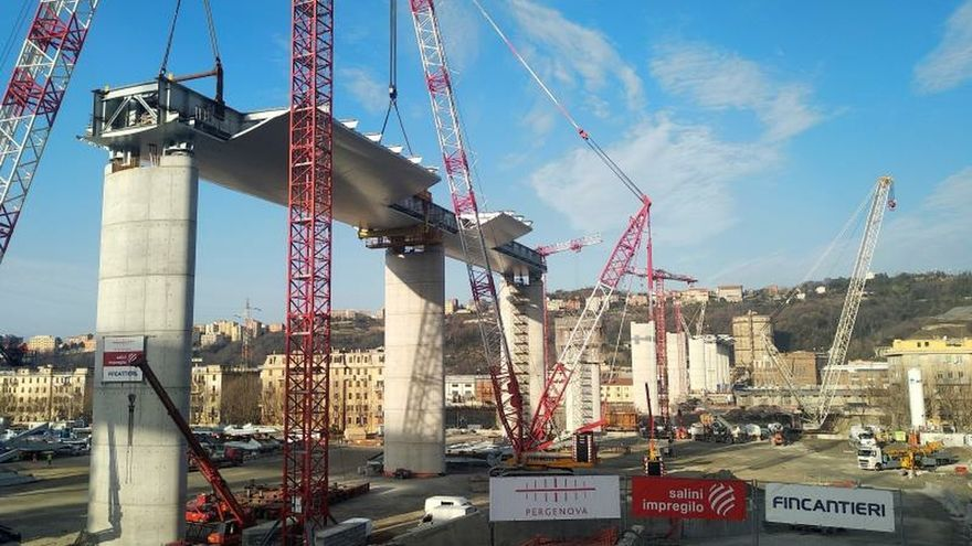 Génova, partida en dos, se recupera tras el derrumbe del Puente Morandi