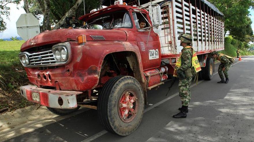 Detienen a cinco disidentes de las FARC en el suroeste de Colombia