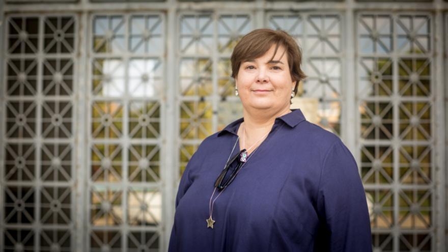 Mari Luz Hernández, profesora titular del Departamento de Geografía y Ordenación del Territorio de la Universidad de Zaragoza.