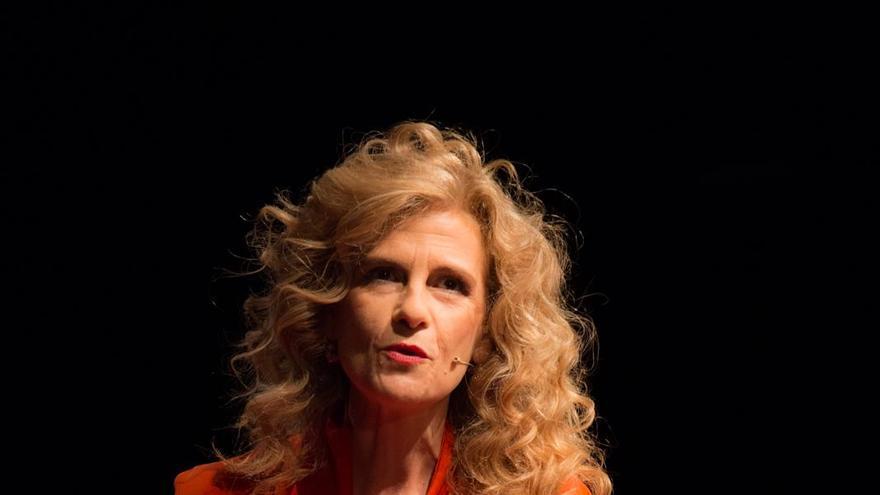 Patricia Soley-Beltran, ganadora del premio Anagrama / OLIVIER VALIENTE