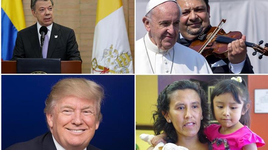 Santos y el papa Francisco entre las cien personas más influyentes para Time