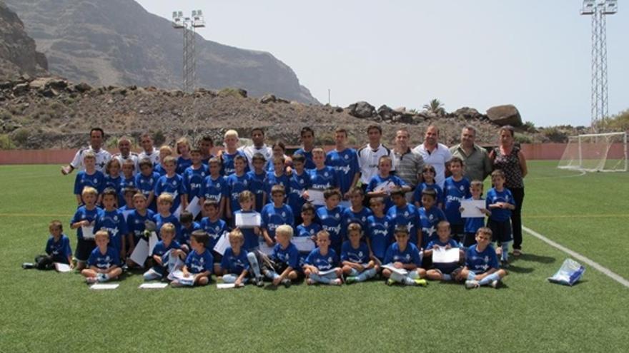 Campus de fútbol en Valle Gran Rey