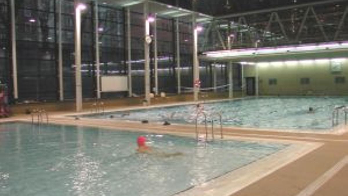 Las piscinas de Aldabe de Vitoria