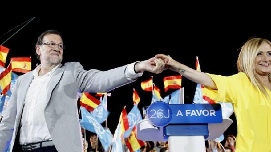 Rajoy y Cifuentes en una imagen de archivo.