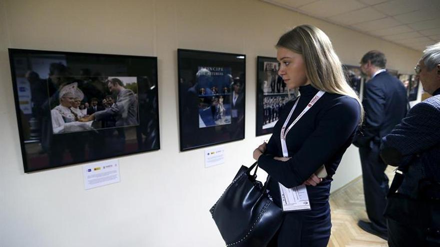 Exposición fotográfica de Efe recorre 40 años de relaciones ruso-españolas
