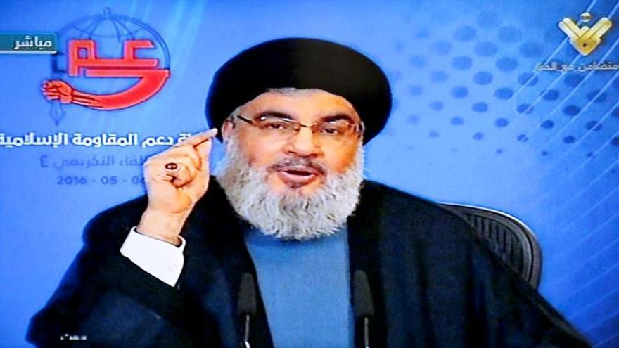 """Líder de Hizbulá acusa a Riad de """"torpedear"""" las negociaciones sirias y yemeníes"""