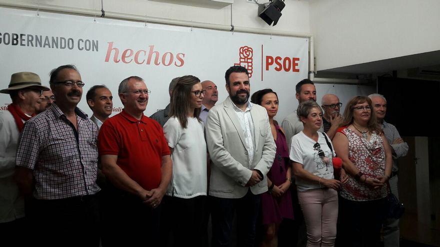 Presentación de la precandidatura de José Luis Blanco