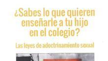 El grupo ultracatólico Hazte Oír envía folletos homófobos a 16.500 centros educativos