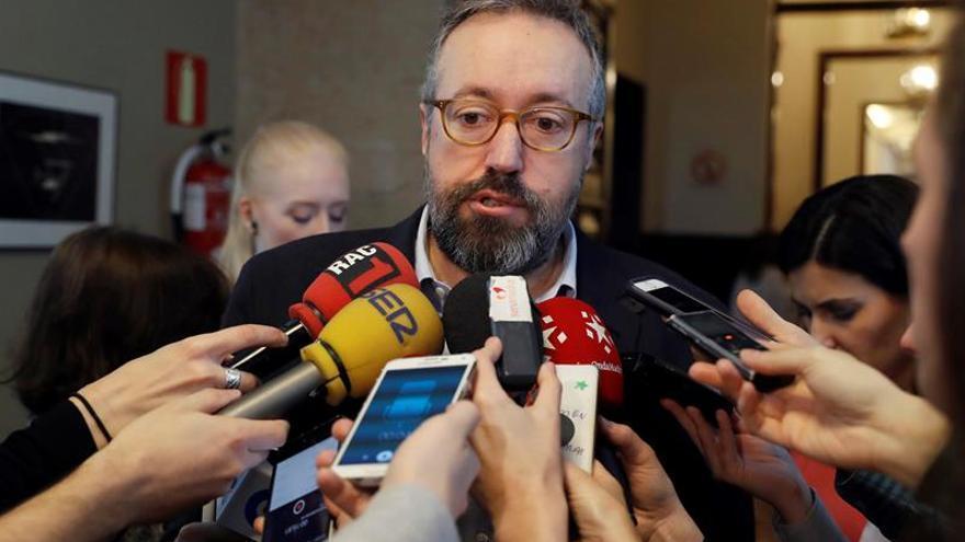 Cs insta a PP y PSOE a apoyar eliminar los aforamientos en Congreso y Senado
