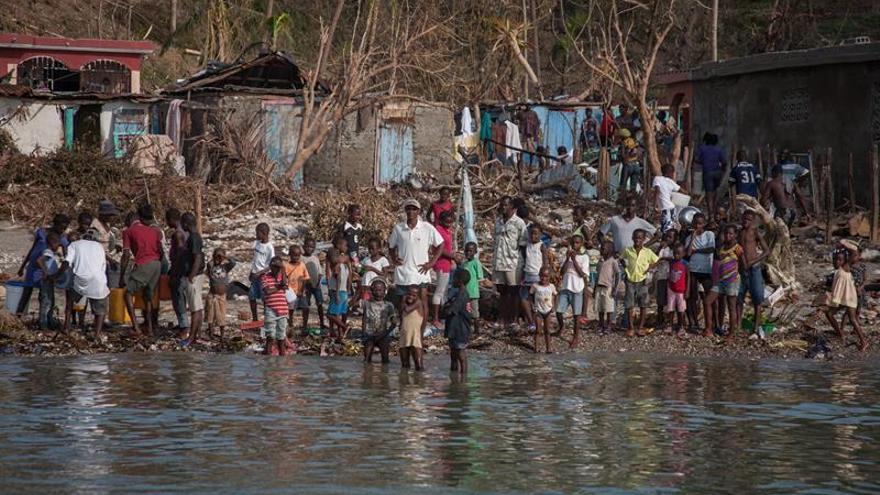 El rostro de la destrucción sigue visible en Haití un año después de Matthew