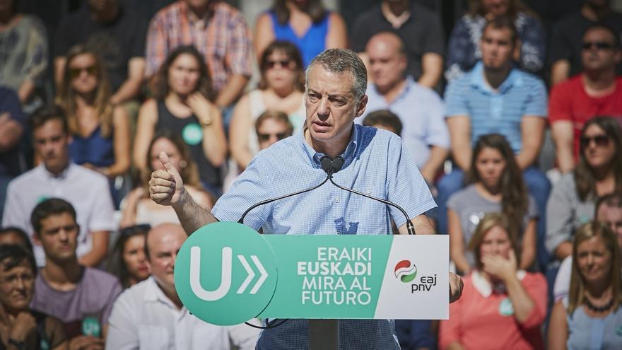 """Urkullu ve """"importante"""" que Puigdemont """"atienda a la voluntad de entendimiento"""" más allá de las grandes manifestaciones"""