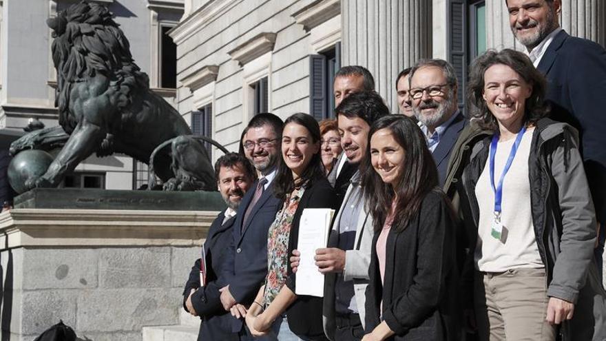 Podemos, PSOE y Compromís instan al Gobierno a modificar la regla de gasto