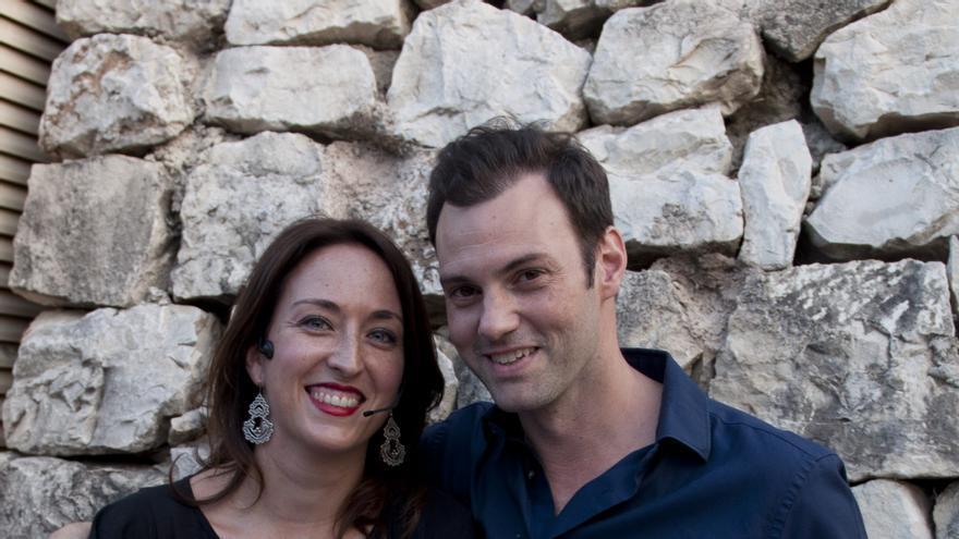 María Minaya y Rafa Alarcón, creadores del Circuito Café Teatro San Miguel.