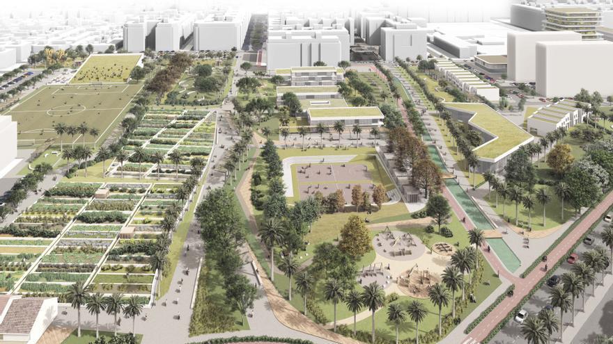 Imagen virtual del plan urbanístico